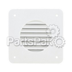 Valterra A103300; Battery Box Louver White Bulk