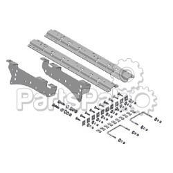 B & W Trailer Hitches RVK2400; Universal Rail W/ Custom Bracket Kit