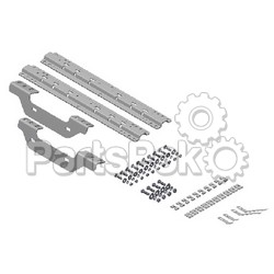 B & W Trailer Hitches RVK2501; Universal Rail W/ Custom Bracket Kit