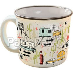 Camp Casual CC004C; The Mug-Wanderlust White