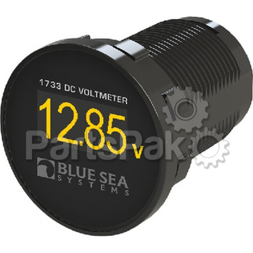 Blue Sea Systems 1733; Mini Digital Volt Meter 12-24V