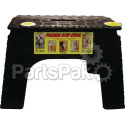B & R Plastics 1036BK; 12 Inch Step Stool Black