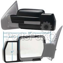 K-Source 81810; Snap On Mirror Ford f-15009-10