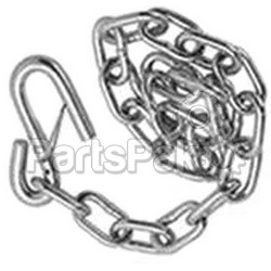 Pacific Rim International SC1427; Safety Chain 1/4 X 27 Bulk