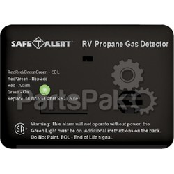 MTI Industries 20441PBL; Alarm-12V Surface Mount LP Liquid Propane Gas Detector Black