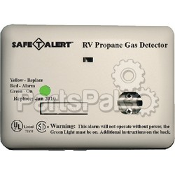 MTI Industries 20441PWT; Alarm-12V Surface Mount LP Liquid Propane Gas Detector White