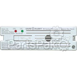MTI Industries 35741WT; Alarm-12V Surface Mount LP Gas Carbon Monoxide Detector White