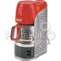 Coleman 2000020942; Coffeemaker Propane Red Glass