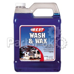 BEST 60128; Wash & Wax Concentrate 128 Oz