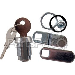 JR Products 00155; 5/8 Inch Keyed Compartment Lock