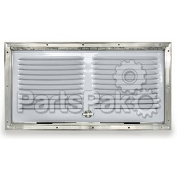 Norcold 617484PW; Lower Side Vent Polar White