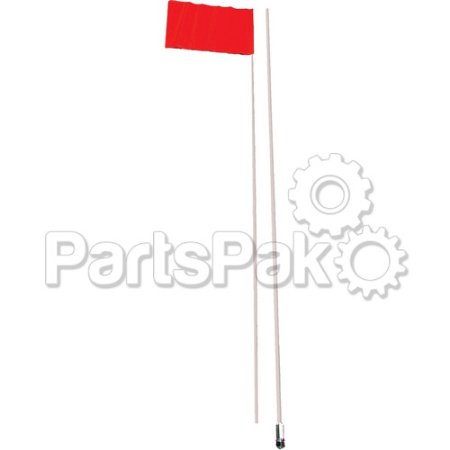 Safety 36-20924; Flag-9Ft G Ea. For Mich State Parks 2Pc