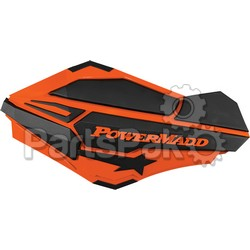 PowerMadd 34405; Pm Sentinal Handguard Ktm Orange / Black; 2-WPS-18-95184