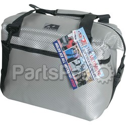 Ao Coolers AOCR12SL; Ao 12 Can Cooler Carbon Silver 14X7X12 Inch