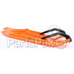 C&A 77100410; Xcs Pro Skis Orange Pair