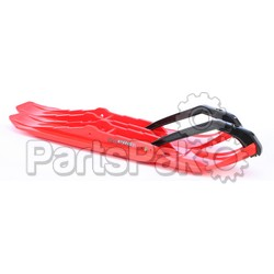 C&A 77050410; Xcs Pro Skis Red Pair