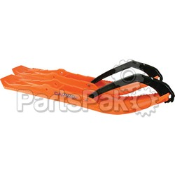 C&A 399-7710; Bondocking Xtreme Pro Skis Orange Pair