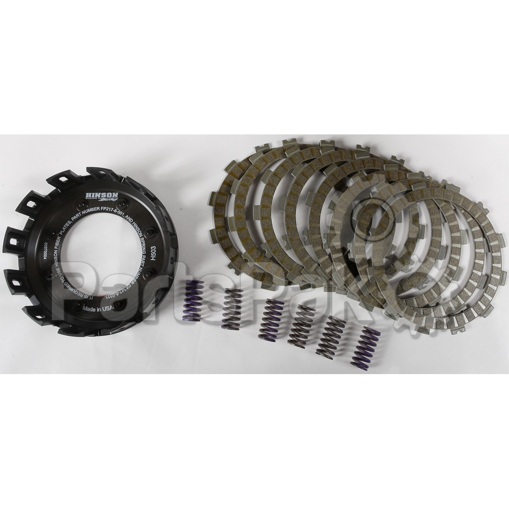 7 Plates FP026-7-001 Hinson Racing Clutch Fiber Plate Kit