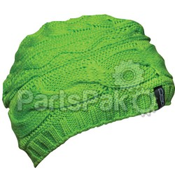 Divas 35582; Knit Beanie Apple Green