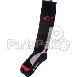 Alpinestars 4702014-131-L/2X; Pro Coolmax Socks Red Lg-2X