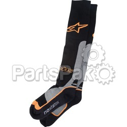 Alpinestars 4702014-174-L/2X; Pro Coolmax Socks Orange Lg-2X