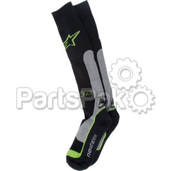 Alpinestars 4702014-178-L/2X; Pro Coolmax Socks Green Lg-2X