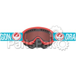 Dragon 267276438742; Mdx Snow Goggle Flash Blue W / Orange Lens