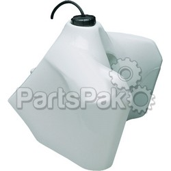 Acerbis 2062480002; Fuel Tank White With Black Cap 5.8 Gal