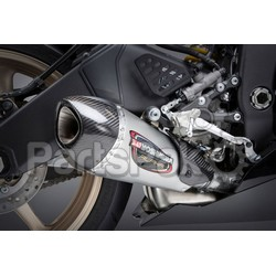 Yoshimura 13630BP520; Street Alpha Slip-On Exhaust; 2-WPS-960-1566