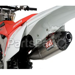 Yoshimura 228400D321; Rs-4 Header / Canister / End Cap Exhaust System Ss-Al-Cf; 2-WPS-961-1403