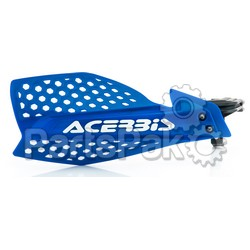 Acerbis 2645481006; Ultimate X Handguard Blue / White