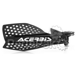 Acerbis 2645481007; Ultimate X Handguard Black / White