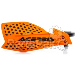 Acerbis 2645481008; Ultimate X Handguard Orange / Black