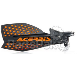 Acerbis 2645481009; Ultimate X Handguard Black / Orange