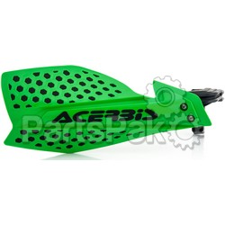 Acerbis 2645481089; Ultimate X Handguard Green / Black