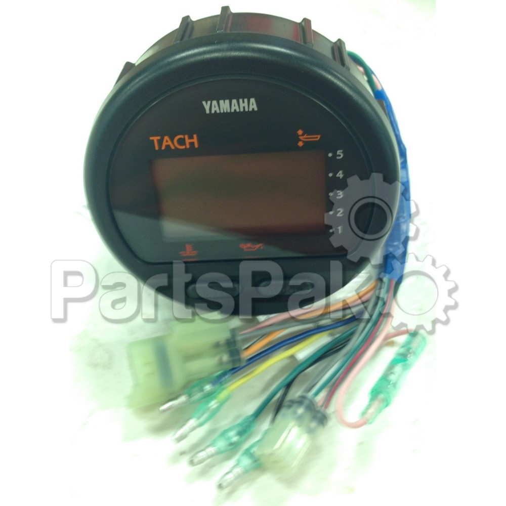 Yamaha 6Y5-83500-T0-00 Tachometer Assembly ; New # 6Y5-8350T-D0-00 Made by Yamaha Round