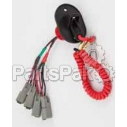 Honda 36153-ZY3-000AH Dual Key Panel Stop Switch; 36153ZY3000AH