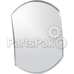 Camco 25603; Blind Spot Mirror 4-Inch x 5.5-Inch Conv