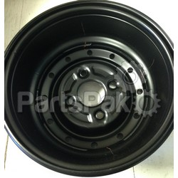 Yamaha 8DF-47550-01-BK Wheel Black Plastic Assembly; 8DF4755001BK Made by Yamaha