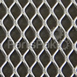 Helix Racing Products 005-1802; Aluminum Mesh 18X18 Diamond