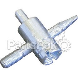 Helix Racing Products 041-0067; Tool-Tire Valve Repair 4-Way