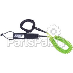 Jobe Sports 480018022; Sup Leg Leash Coil 10-Foot, Stand Up Paddleboard