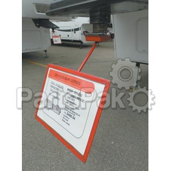 Noble RV FWSH; Fifth Wheel Sign Holder