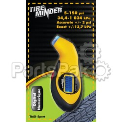 Minder Research TMGSPORT; Led Digital Gauge With Flashlight