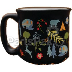 Camp Casual CC004BLK; The Mug-Into The Woods