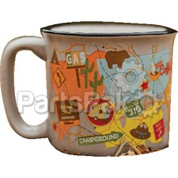 Camp Casual CC004TM; The Mug-Travel Map