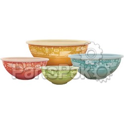 Camp Casual CC006; Nesting Bowls With Lids 4 Sets; LNS-925-CC006