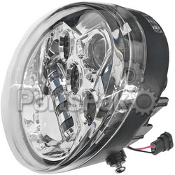 Pathfinder HDVRODC; Vrod Led Headlight Chrome; 2-WPS-226-0049