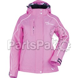Divas 35266; Lily Collection Jacket Pink Heather 2X