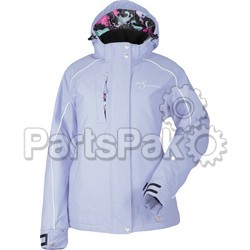 Divas 35277; Lily Collection Jacket Lilac Heather 3X